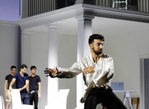 Davide Luciano, Figaro nel Barbiere