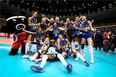 Eh sì, il sorriso delle azzurre è bellissimo: l'Italia torna in finale di un mondiale grazie a loro (Foto Fivb)