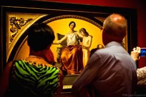 La mostra a Urbino (Foto Luigi Angelucci)