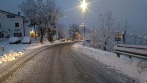 SP 3 Tavoletana tratto al confine con Rimini