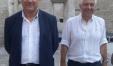 Il vicepresidente del Consiglio Regionale Renato Claudio Minardi e l'assessore comunale di Fano Stefano Marchegiani