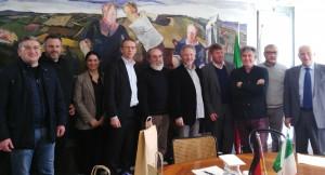Delegazione Wolfsburg ricevuta in Provincia