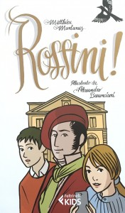 Rossini secondo l'illustratore Baronciani