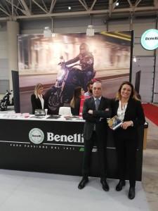 Lo stand Benelli