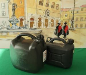 Taniche di benzina e gasolio