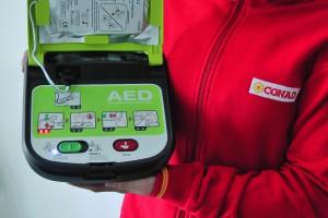 Conad-defibrillatore