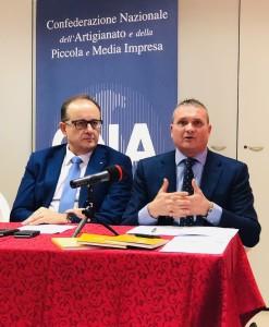 Alberto Barilari e Moreno Bordoni di Cna