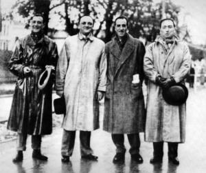 I quattro fondatori del sogno Mille Miglia