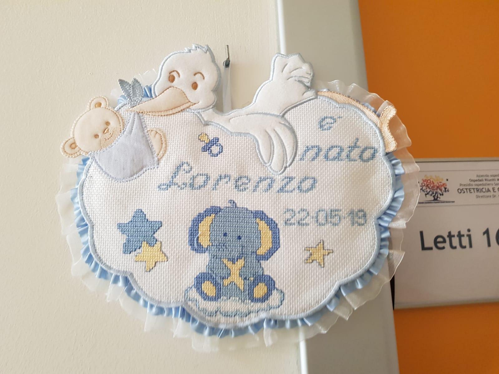 da1fa2bfb7b8 pu24.it- Fiocco azzurro in casa Sacchi: è nato Lorenzo, primogenito ...