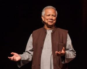 Il professore Muhammad Yunus