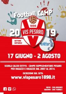 VIS PESARO FOOTBALL CAMP LOCANDINA