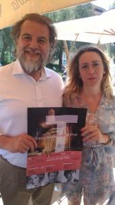 Lorenzo Fiorelli e Silvia Calzini