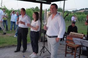 La precedente edizione della Staffetta del Bianchello da Bucchini con Anna Bracci