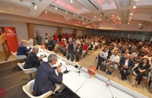 La conferenza di presentazione del main sponsor