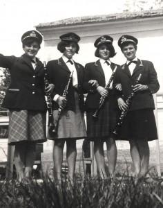 Le prime presenze femminili nella banda di Montefelcino (1964)