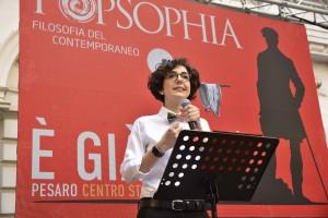 La direttrice di Popsophia Lucrezia Ercoli