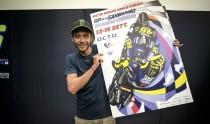 Valentino Rossi firma il manifesto di Drudi
