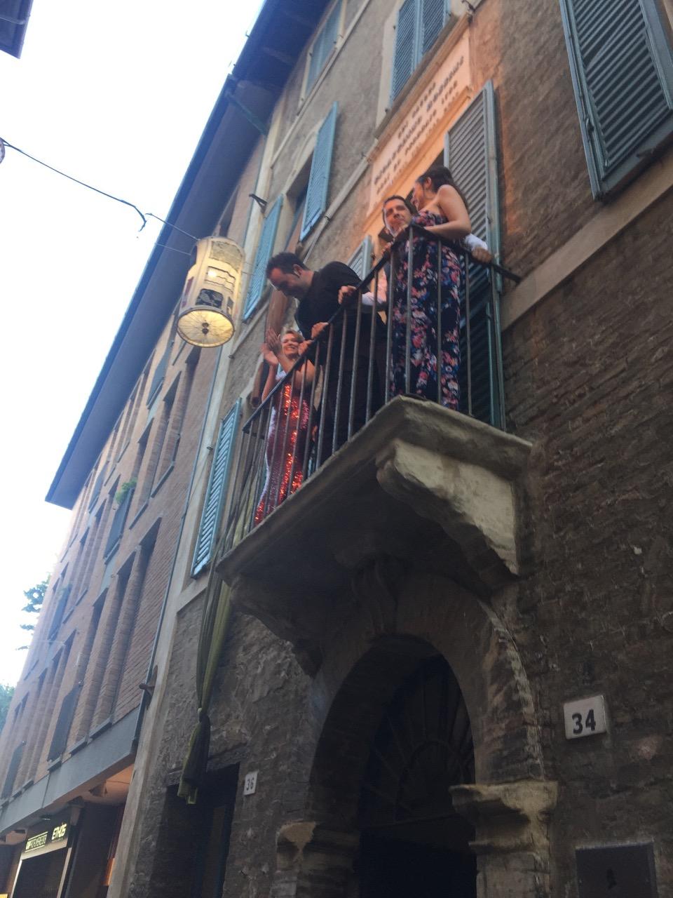 Concerti dal balcone