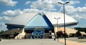 Adriatic Arena (foto tratta da Fb dalla pagina del sindaco Ricci)