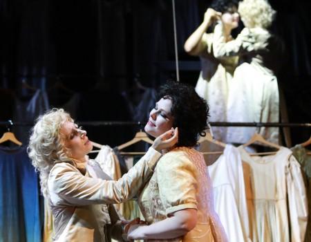 Cecilia Molinari e Jessica Pratt in Demetrio e Polibio (Foto Amati Bacciardi)