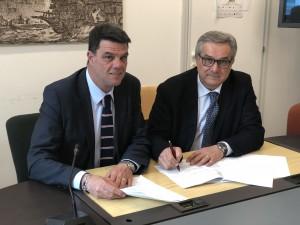Renato Claudio Minardi e Boris Rapa