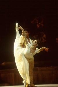 Alessandra Ferri e José Manuel Carreño durante il Guillaume Tell