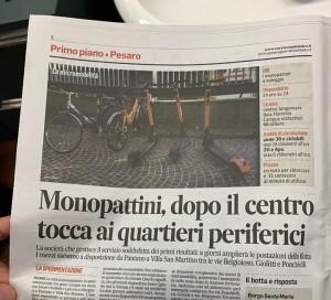 Monopattini Corriere Adriatico