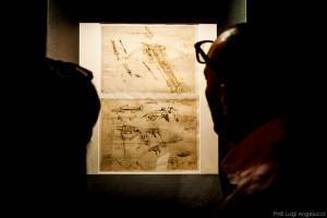Leonardo e Vitruvio in mostra a Fano (Foto Luigi Angelucci)