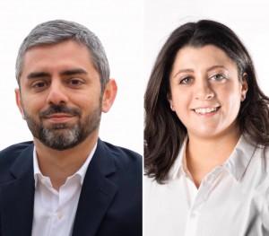 Dario Andreolli e Giulia Marchionni