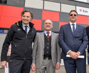 Andrea Albani, Mariano Spigarelli e Luca Colaiacovo