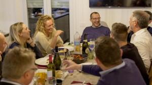 La cena di Ricci a casa Cardinali