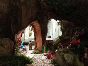 La via dei presepi a Urbino
