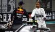 Scambio di complimenti fra Verstappen e Hamilton