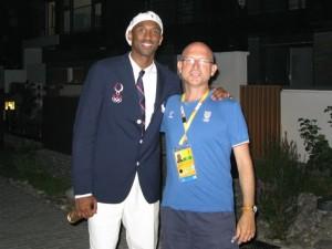 Giochi Olimpici di Pechino 2008: Kobe con il dottor Piero Benelli