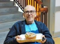 Massimo Mainardi, qui immortalato durante il suo 75esimo compleanno trascorso a Santa Colomba