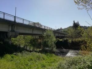 Ponte sul fiume Foglia Sp 127 Montelabbate Montecchio