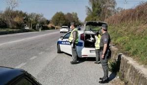 polizia provinciale controlli sulle strade