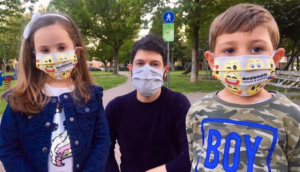 Mascherine bambini Cartoceto