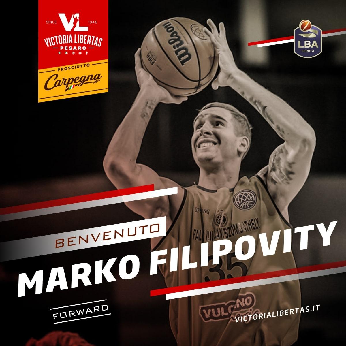 Comunicato UFFICIALE: Pesaro firma Marko Filipovity