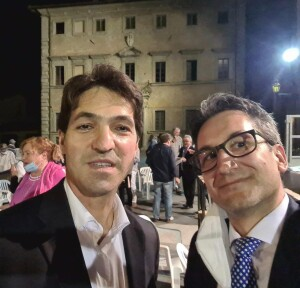 Francesco Baldelli e Francesco Acquaroli a Mercatello sul Metauro