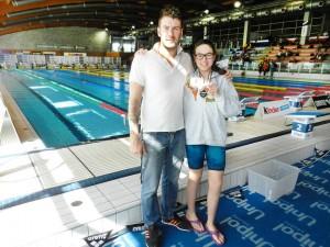 Paolo Bossini e Alice Morbidelli Sport Village Pesaro