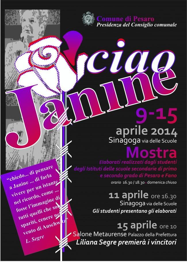 Ciao Janine, il manifesto