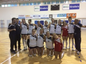 U16 VOLLEY PESARO DIAMANTE campione provinciale