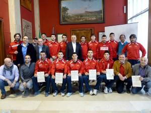 Italservice PesaroFano Calcio a 5 premiato in Comune