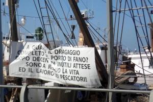 Protesta pescatori fanesi