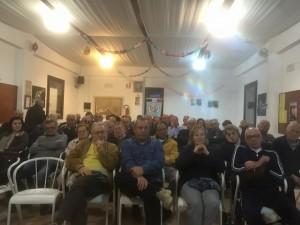 I presenti all'assemblea di Borgo Santa Maria