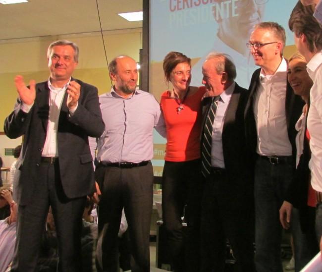 I candidati Pd pesaresi con Ceriscioli e Marcolini