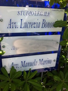 Cancellato il nome di Alessia Morani dal suo studio legale (foto tratta da Fb)