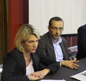 Camilla Fabbri, Matteo Ricci e Angelo Capuzzimato