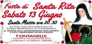 Festa Santa Rita Oasi 2015